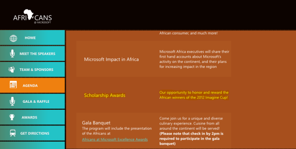 Cipher256 voted overall Africa winner of the 2012 Imagine Cup
